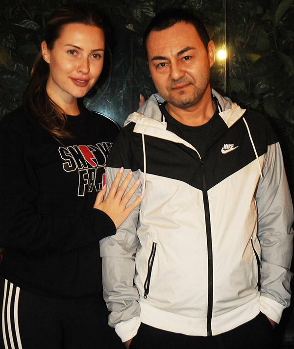 Chloe Loughnan, eşi Serdar Ortaç'ı bile şaşırttı !