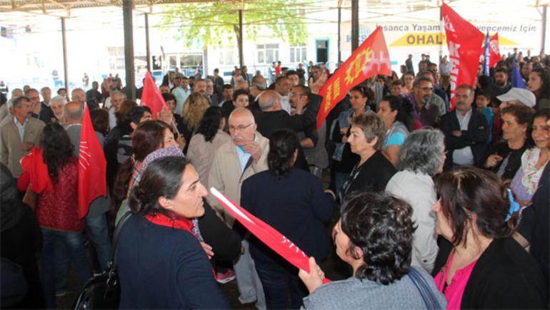 HDP ve CHP arasında slogan tartışması