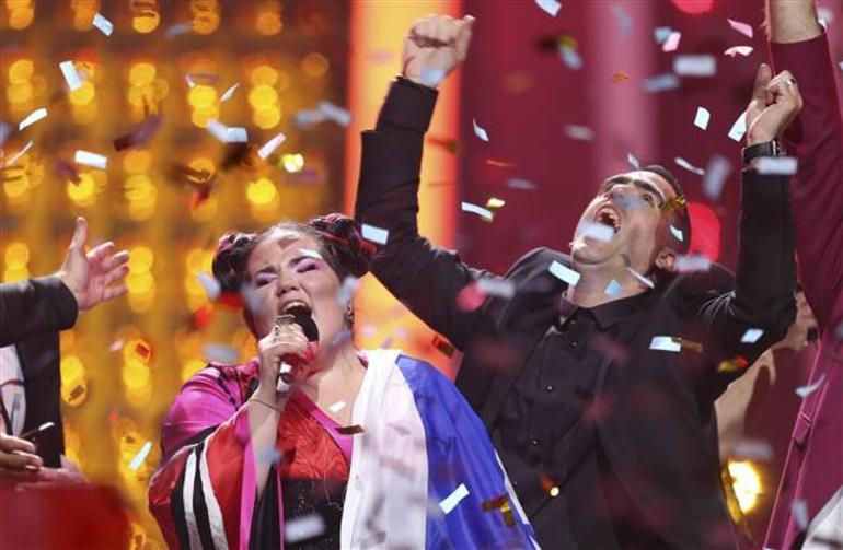 Eurovision'da skandal ! Geceye damga vurdu