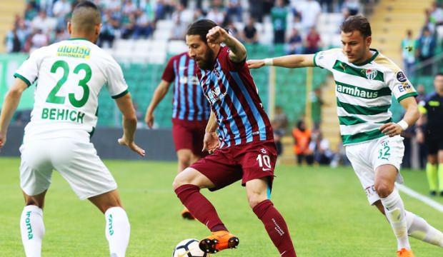 Trabzonspor işi ilk yarıda bitirdi !