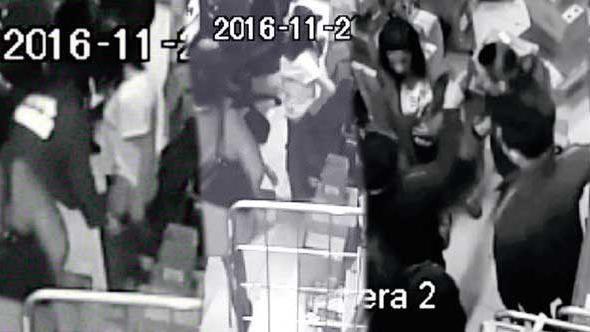 AVM'de çıplak arama skandalı ! Görüntüler ortaya çıktı