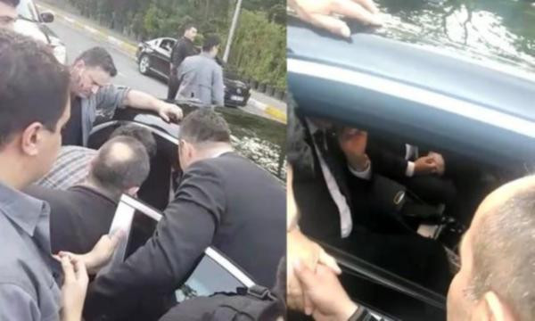 Erdoğan'a ''açız'' deyince devreye korumalar girdi