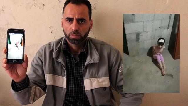 6 yaşındaki Suriyeli çocuğu kaçırıp babasına bu fotoğrafı gönderdiler