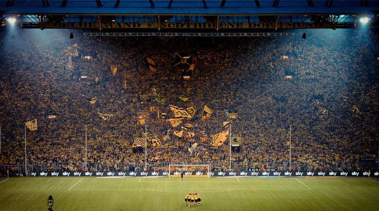 Avrupa'da taraftar şampiyonu Dortmund !