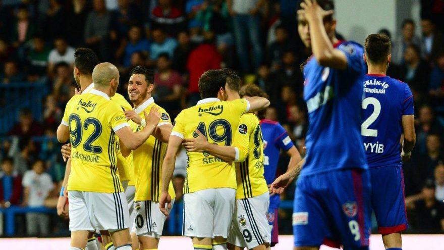 Karabükspor - Fenerbahçe: 0-7