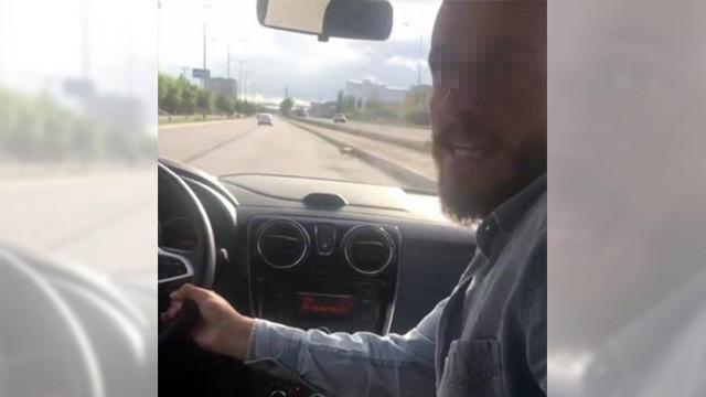 Sürücüsüz otomobilin trafik canavarı sürücüsü gözaltında