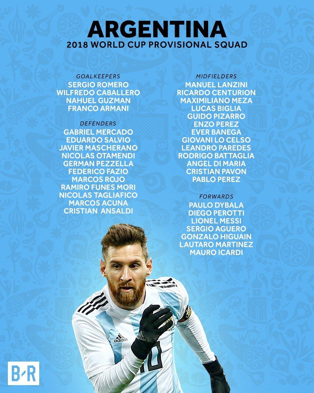 İşte 2018 Dünya Kupası kadroları