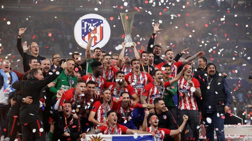 Avrupa Ligi kupası Atletico Madrid'in !