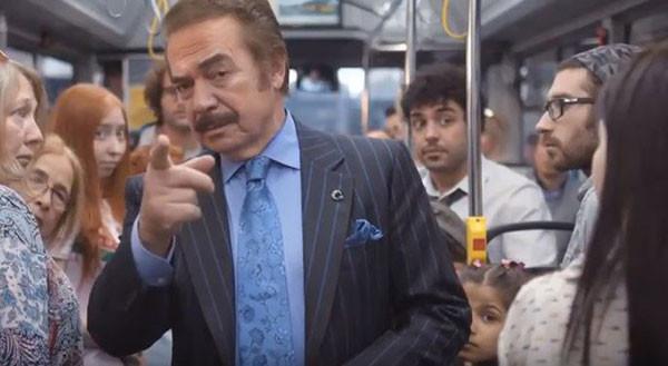 Orhan Gencebay'dan kamu spotu gibi deodorant reklamı
