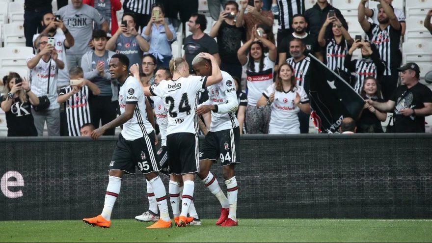 Beşiktaş - Sivasspor: 5-1