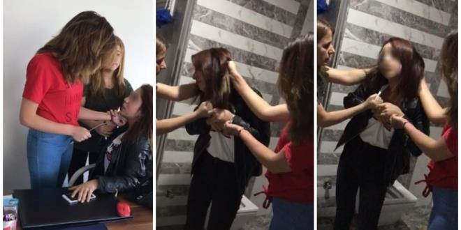 Arkadaşlarının ofisini basan 3 genç kız gözaltında