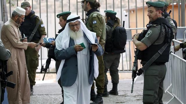 İsrail'den Kudüs'te Ramazan zulmü