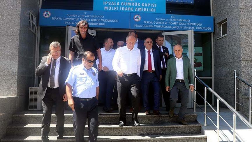 Yunanistan CHP heyetini ülkeye sokmadı