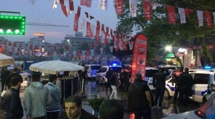İstanbul'da İYİ Parti standına saldırı: 5 yaralı