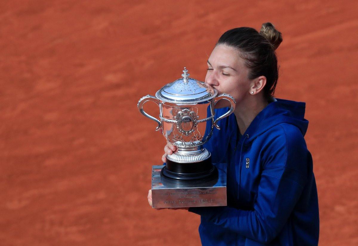 Fransa Açık'ta şampiyon Simona Halep !
