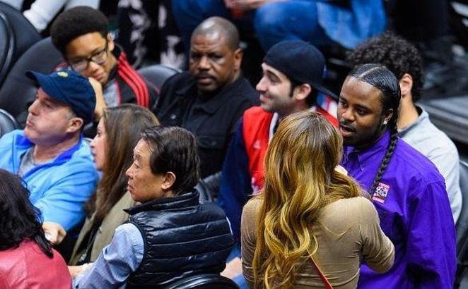 NBA maçına Nikki Mudarris damgası !
