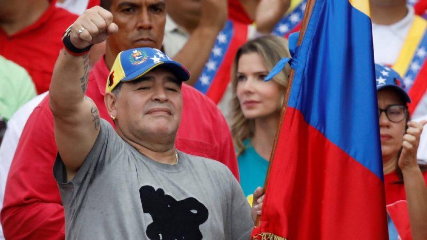 Maradona'dan Dünya Kupası tepkisi !