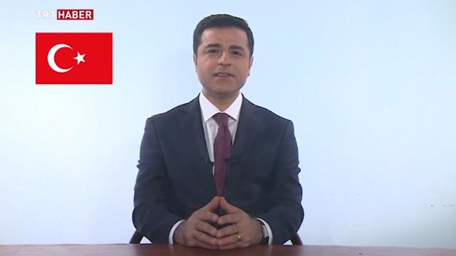 Selahattin Demirtaş TRT'ye çıktı