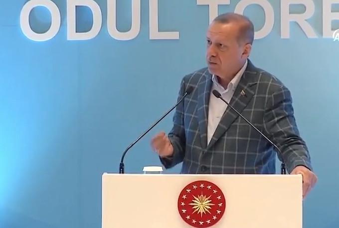 Erdoğan: ''Bunu değiştireceğiz, lamı cimi yok''