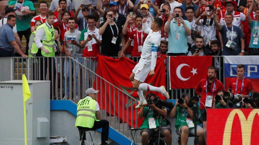 Ronaldo'nun sevincinde dikkat çeken ayrıntı ! Türk Bayrağı...
