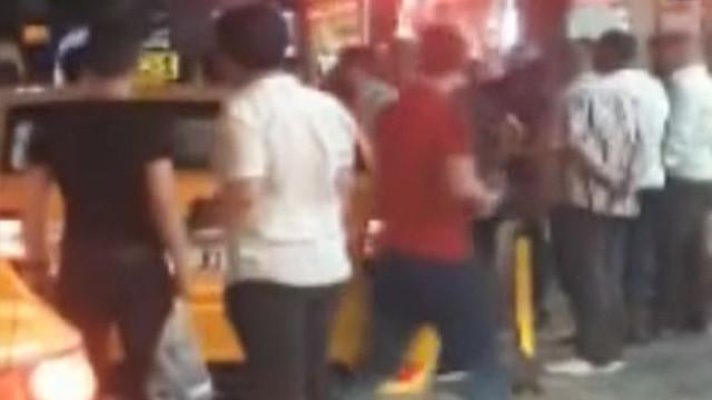 Taksim'de turistlere böyle saldırdılar