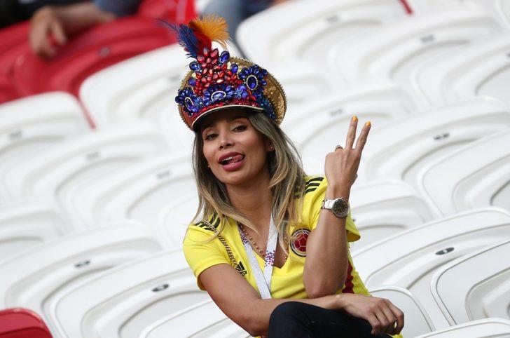 İşte Dünya Kupası'nın güzelleri !
