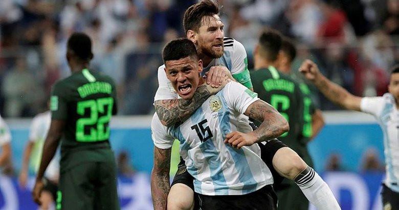 Arjantin Nijerya'yı son anlarda yıktı !