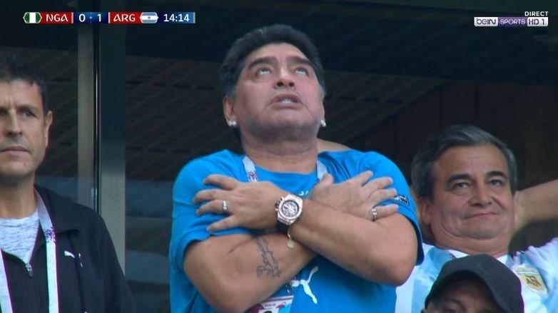 Maradona hastanelik oldu !