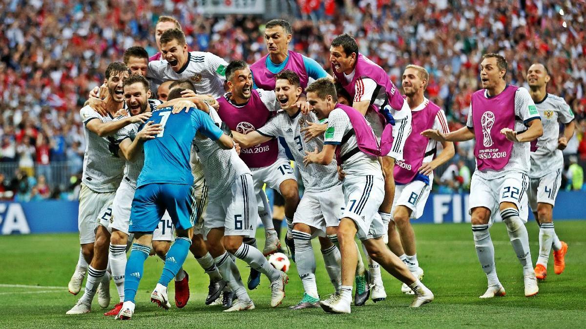 Rusya çeyrek finalde !