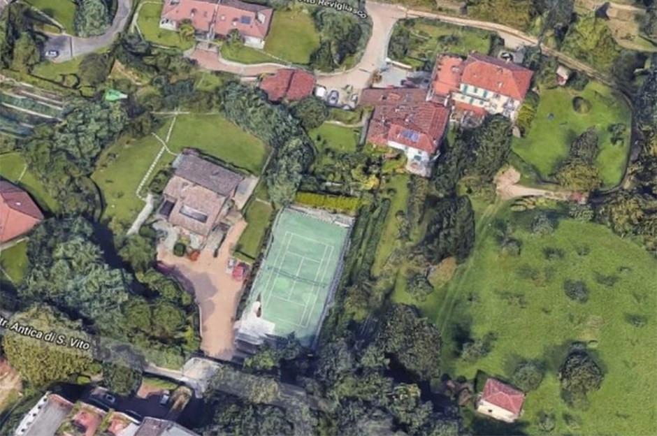 İşte Ronaldo'nun İtalya'daki yeni malikanesi !