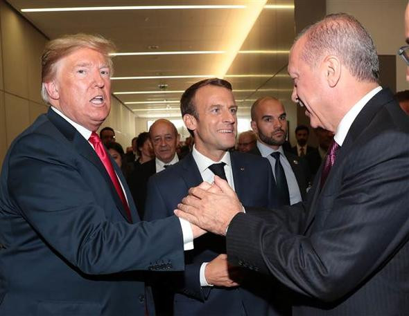 Üç liderden samimi sohbet