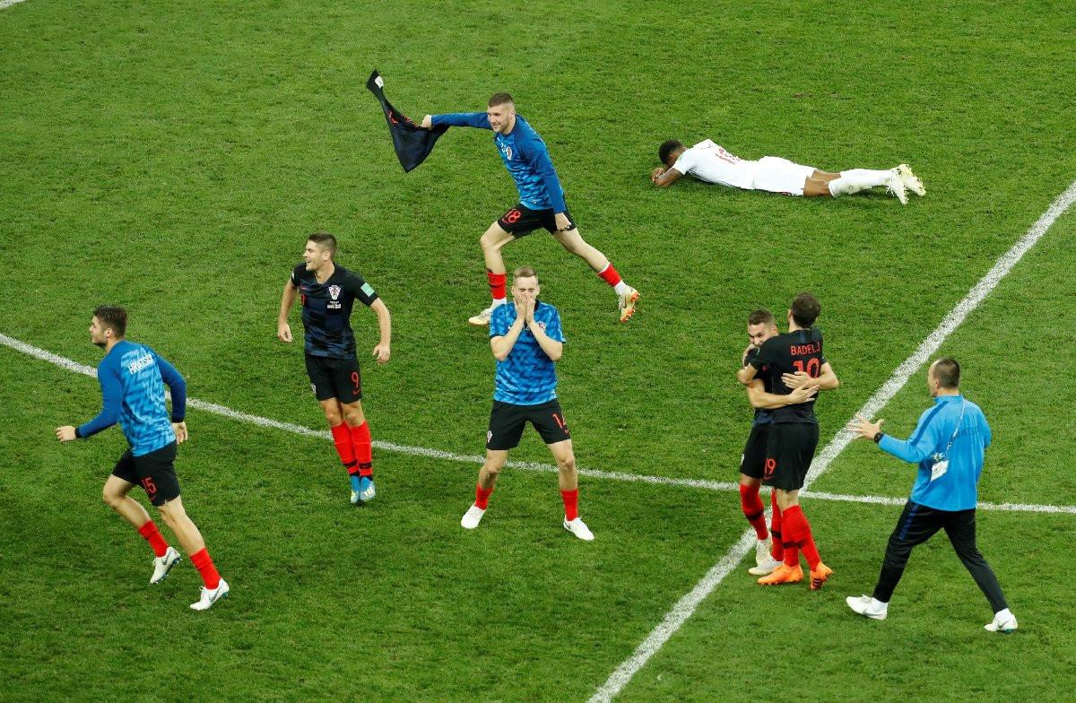 Hırvatistan'da çılgın zafer sevinci !