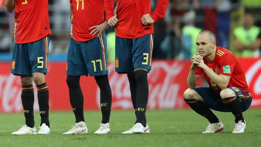 Iniesta milli takımı bıraktı !