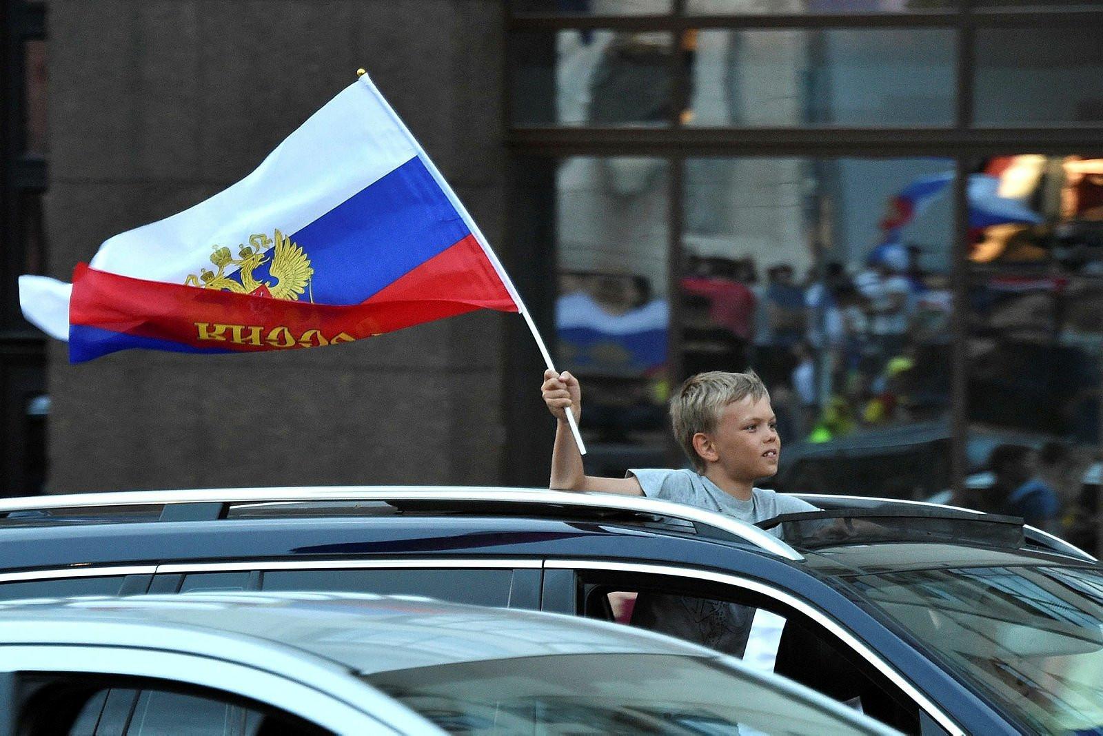 Rusya, İspanya'yı eledi, halk sokaklara döküldü