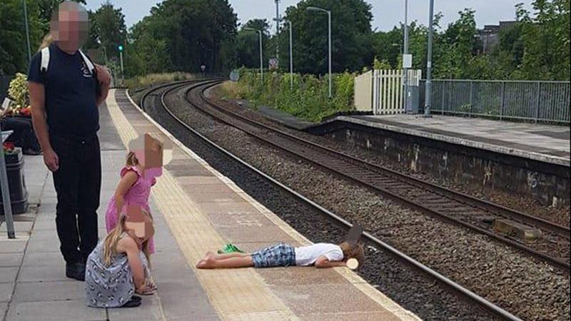 Tren istasyonunda ölüme davetiye
