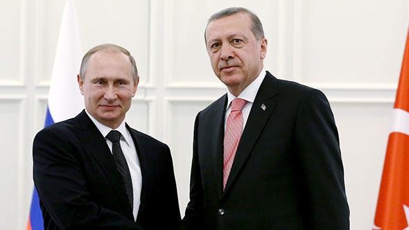 Cumhurbaşkanı Erdoğan ve Putin görüşmesi başladı