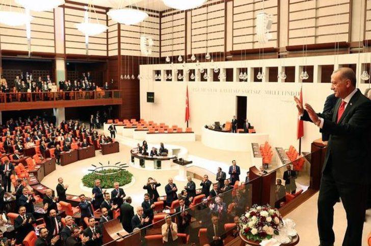 Meclis'te Erdoğan'a büyük şok !