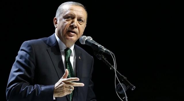 Erdoğan'dan ABD'ye rest: ''Bu tehdit diline asla prim vermeyiz''