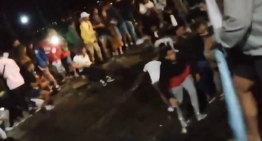 Müzik festivalinde faceia: 250'den fazla yaralı