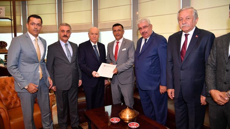 İYİ Parti'den MHP'ye transfer ! Bahçeli imzaladı