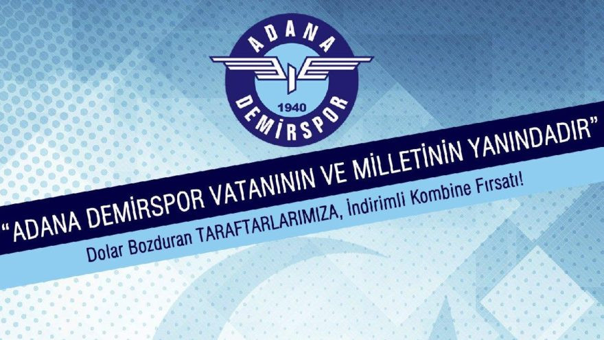 Adana Demirspor'dan dolar bozduran kampanya !