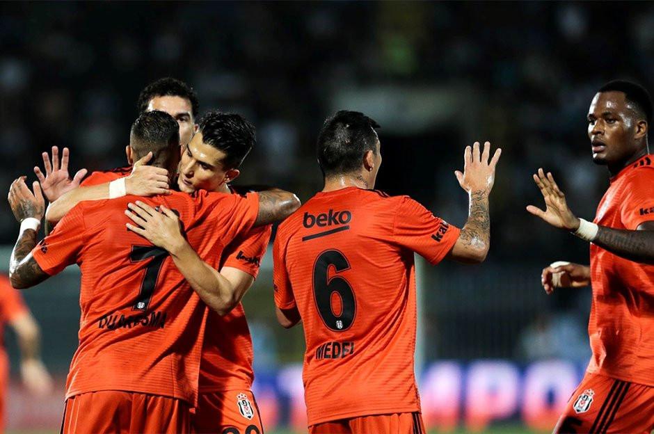 Belgrad'da avantaj Beşiktaş'ın !