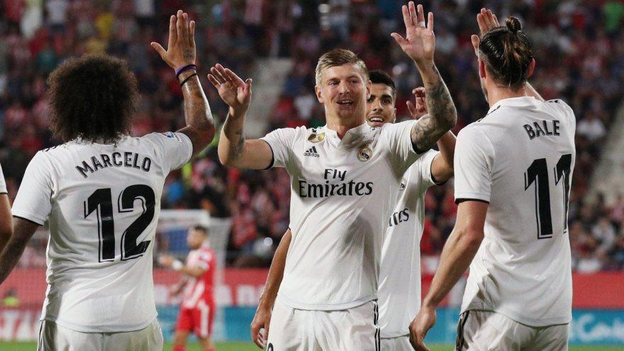Real Madrid'den Girona'ya farklı tarife !