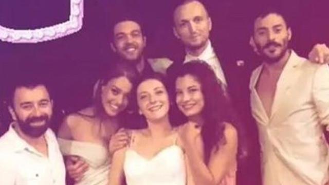 Çukur ekibini buluşturan düğün
