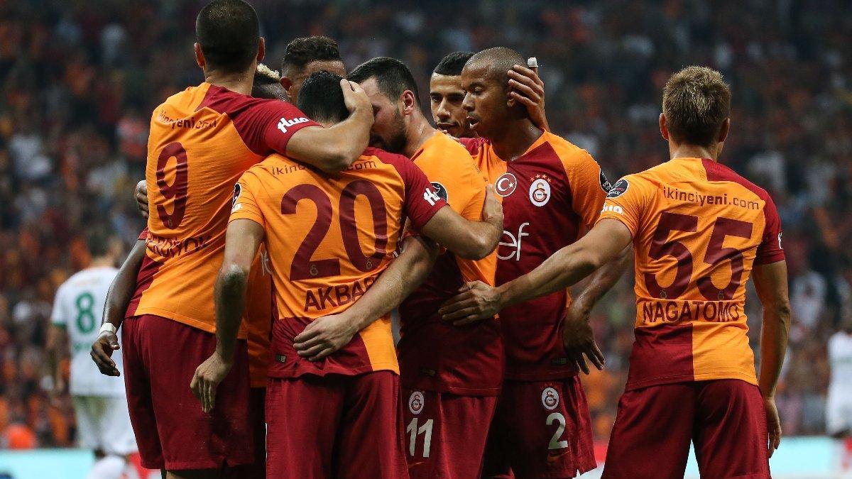 Galatasaray Alanyaspor'u gole boğdu !