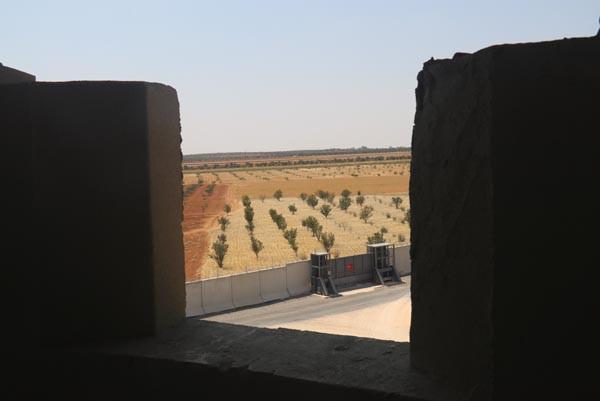 Suriye sınırında son 50 kilometre