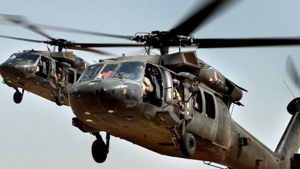 Askeri helikopter düştü: 18 ölü
