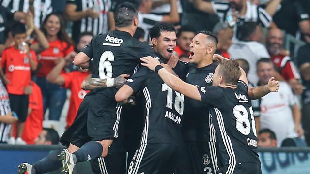 Beşiktaş Avrupa Ligi'nde gruplarda !