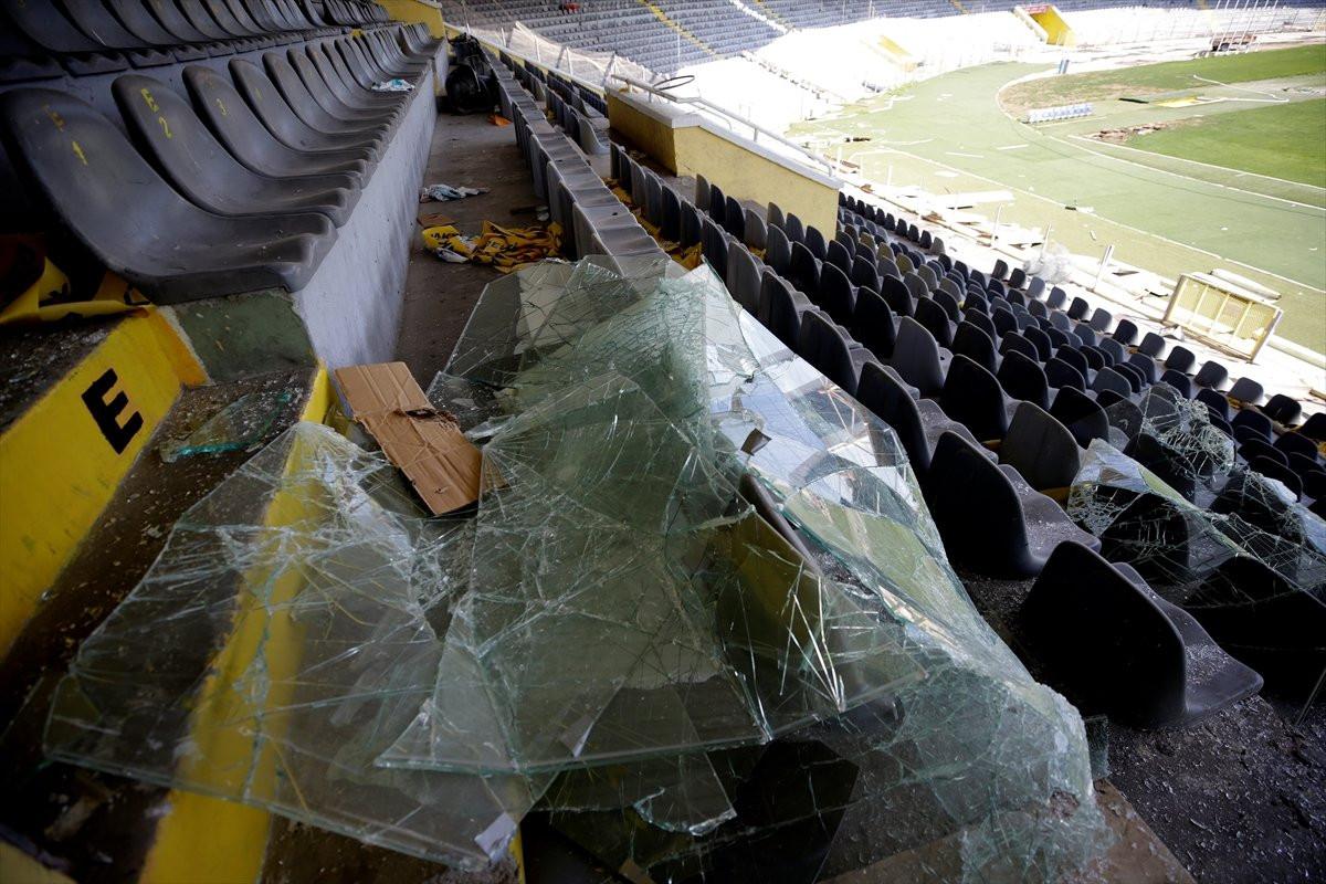 19 Mayıs Stadı yıkılıyor !