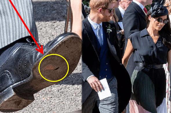 Prensin ayakkabısı olay oldu